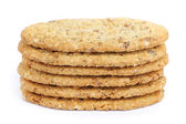 Oval-shaped cookies — Stock Photo