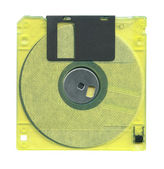 Diskette isolated — Stock Photo