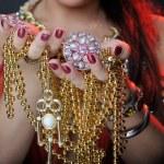 Jewel in hands — Stock Photo #10274568