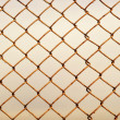 Old rusty lattice - Stock Photo