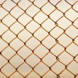 Stock Photo: Old rusty lattice