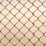 Old rusty lattice — Stock Photo