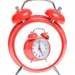 Concept red alarm clock — Stock Photo #10472661