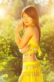 Pretty asian girl — Stock Photo