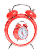 Concept red alarm clock — Stock Photo