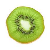Beautiful slice of fresh juicy kiwi — Stock Photo
