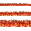 Royalty-Free Stock Photo: Orange tinsel