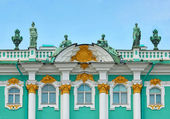 Architecture of russian Hermitage — Stock Photo