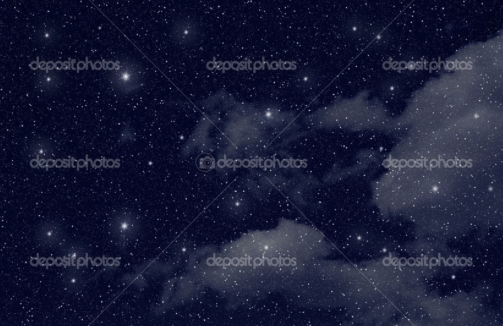 Stars in the space — Stock Photo #10604708