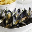 Royalty-Free Stock Photo: Mussel seafood dinner