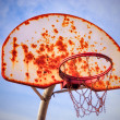 Basketball outdoor — Stock Photo