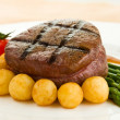 Tenderloin steak — Stock Photo #9927778
