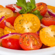 Cherry tomato salad appetizer — Stock Photo
