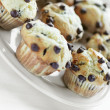 Royalty-Free Stock Photo: Chocolate chip muffin breakfast
