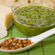 Horizontal pesto — Stock Photo