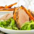 Healthy pork fillet — Stock Photo