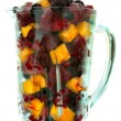 Frozen fruit in a pitcher — Stock Photo #9928455