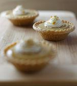 Mini maple syrup tart — Stock Photo