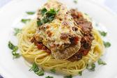Parmigiana meal — Stock Photo