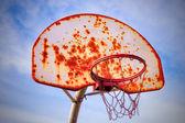 Basketball outdoor — Stock Photo