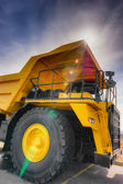 Vertical large haul truck — Stock Photo