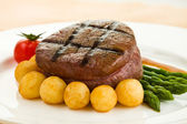 Tenderloin steak — Stock Photo