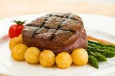 Tenderloin steak — Stock Photo