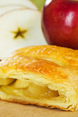 Apple turnover strudel — Stock Photo