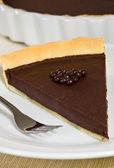 Torta al cioccolato torta — Foto Stock