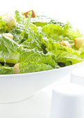 Caesar salad meal — Stock Photo