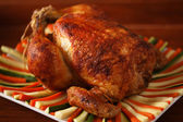 Roast chicken — Stockfoto