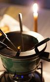 Color fondue — Stock Photo
