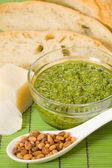 Pesto sauce — Stock Photo