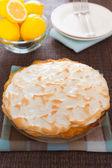 Celý citrus koláč moučník — Stock fotografie