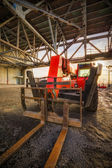 Industrial lift truck — Stock Photo