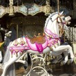 Stock Photo: Carrousel manège old merry-go-round paris 9