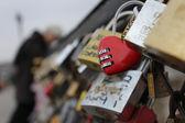 Cadenas amour love locks Paris 4 — Stock Photo