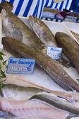 Fresh fish market marché aux poisson paris 2 — Foto Stock