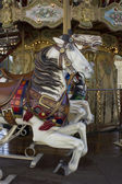 Carrousel manège old merry-go-round paris 11 — Stockfoto