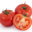 Tomatoes - two and a half — Stock Photo
