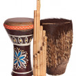 African ethnic musical instruments — Stock Photo #9954026