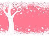 Blossom sakura — Stock Vector