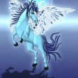 Stock Photo: Blue Pegasus