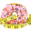 Stock Photo: Fat Donut - Unhealthy Food