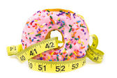 Fat Donut - Unhealthy Food — Stock Photo