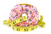 Tłuszczu pączki - niezdrowej żywności — Zdjęcie stockowe