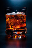 Alcohol On the Rocks — Stock Photo