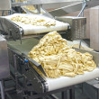 The conveyor for dough manufacture — Stock Photo
