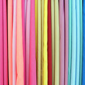 Color fabrics — Stock Photo