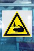 Danger sign — Стоковое фото